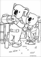 Koala Brothers coloring page (008)
