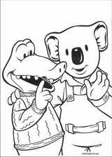 Koala Brothers coloring page (010)
