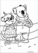 Koala Brothers coloring page (011)