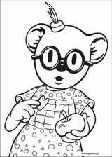 Koala Brothers coloring page (017)