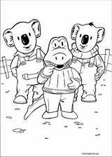 Koala Brothers coloring page (019)