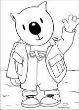 Koala Brothers coloring page (021)