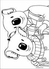 Koala Brothers coloring page (029)
