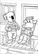 Koala Brothers coloring page (035)