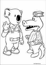 Koala Brothers coloring page (046)