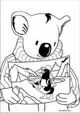 Koala Brothers coloring page (049)