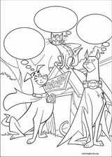 Krypto coloring page (013)