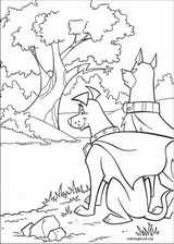 Krypto coloring page (015)