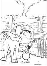 Krypto coloring page (034)