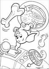 Krypto coloring page (039)