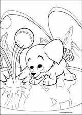 Krypto coloring page (043)