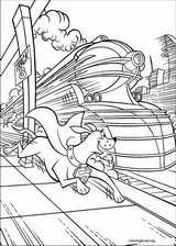 Krypto coloring page (053)