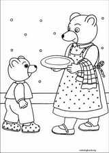 Little Brown Bear coloring page (004)