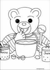 Little Brown Bear coloring page (005)