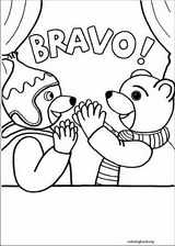 Little Brown Bear coloring page (008)