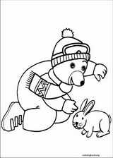Little Brown Bear coloring page (013)