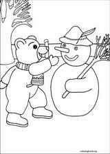 Little Brown Bear coloring page (014)