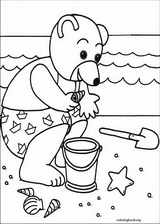 Little Brown Bear coloring page (031)