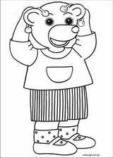 Little Brown Bear coloring page (034)