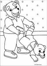 Little Brown Bear coloring page (043)