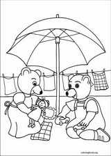 Little Brown Bear coloring page (046)