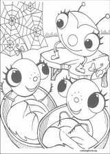 Miss Spider coloring page (004)