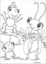 Miss Spider coloring page (005)