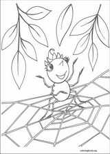 Miss Spider coloring page (007)