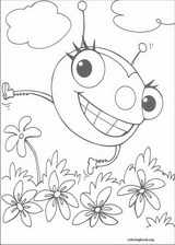 Miss Spider coloring page (013)