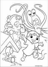 Monsters, Inc. coloring page (013)