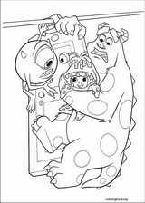 Monsters, Inc. coloring page (024)