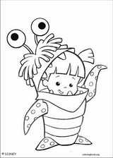 Monsters, Inc. coloring page (036)