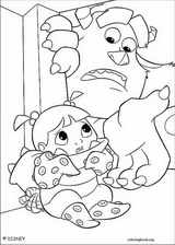 Monsters, Inc. coloring page (041)