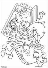 Monsters, Inc. coloring page (045)