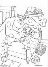 Monsters, Inc. coloring page (052)