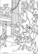Oliver & Company coloring page (005)