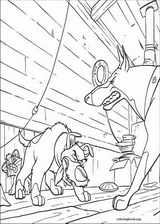 Oliver & Company coloring page (006)