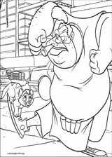 Oliver & Company coloring page (022)