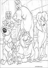 Oliver & Company coloring page (025)