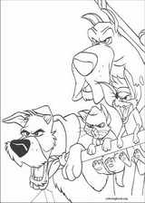 Oliver & Company coloring page (026)