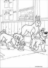 Oliver & Company coloring page (038)