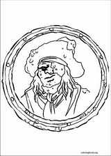 Pirates Of The Caribbean coloring page (001)