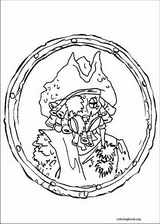 Pirates Of The Caribbean coloring page (002)