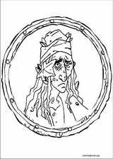 Pirates Of The Caribbean coloring page (005)