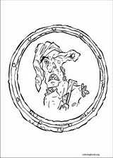 Pirates Of The Caribbean coloring page (006)