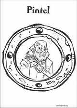 Pirates Of The Caribbean coloring page (007)