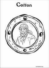 Pirates Of The Caribbean coloring page (008)
