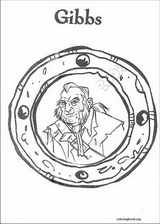 Pirates Of The Caribbean coloring page (009)