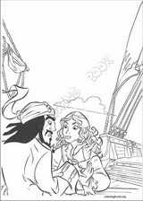 Pirates Of The Caribbean coloring page (013)