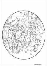 Pirates Of The Caribbean coloring page (016)